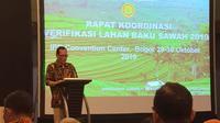 Menteri Pertanian (Mentan) Syahrul Yasin Limpo juga menyambangi Kementerian Agraria dan Tata Ruang/Badan Pertanahan Nasional (ATR/BPN) Kamis, (31/10).
