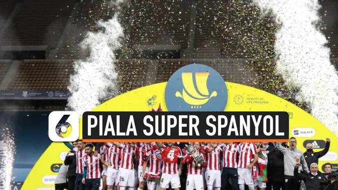 VIDEO: Kalahkan Barcelona, Bilbao Rebut Trofi Piala Super ...