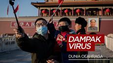 Berita video virus Corona yang ada di Wuhan terus melebar hingga ke dunia Olahraga.
