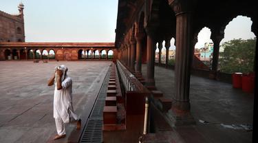 Potret Muslim India Jalani Ramadan di Tengah Lockdown