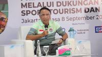 Menpora Zainudin Amali dalam acara Forum Merdeka 9 (Dok FMB 9)