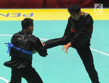 Aksi Komang Harik Adi Putra Rebut Emas ke-17 Indonesia di Asian Games 2018