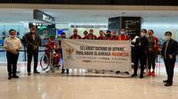 Kloter Pertama Kontingen Indonesia di Paralimpiade 2020 Tiba di Tokyo (Ist)