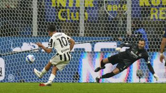 FOTO: Paulo Dybala Gagalkan Kemenangan Inter Milan atas Juventus