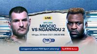 Jadwal UFC 260 Pekan Ini : Miocic vs Ngannou. (Sumber : dok. vidio.com)
