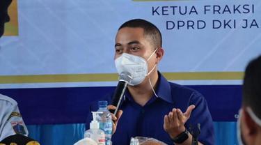 Sekretaris Dewan Pimpinan Wilayah (DPW) Partai NasDem DKI Jakarta, Wibi Andrino