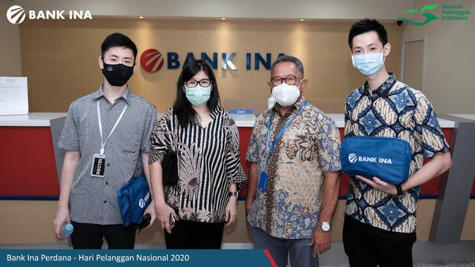 BINA Hari Pelanggan Nasional, Direksi Bank Ina Layani Nasabah - Bisnis Liputan6.com