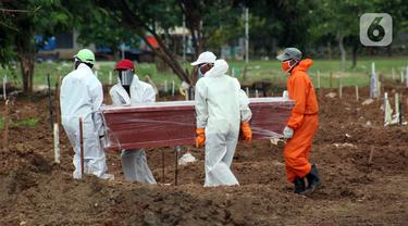 Kesunyian Pemakaman Pasien Covid-19