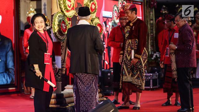 Jokowi hingga Prabowo Hadiri Kongres V PDIP di Bali