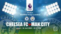 CHELSEA FC VS MANCHESTER CITY FC (Liputan6.com/Abdillah)