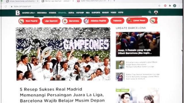 Berita video TikTok Bola.com kali ini menampilkan sepekan yang fantastis di sepak bola, mulai dari duo Manchester United yang terus mencetak gol hingga Real Madrid juara La Liga 2019-2020.
