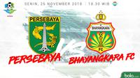 Liga 1 2018 Persebaya Surabaya Vs Bhayangkara FC (Bola.com/Adreanus TItus)