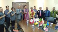 PB Perbakin saat menerima delegasi dari Timor Leste (istimewa)