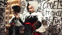 Aurra Kharisma tampil bak Cruella (Sumber: Instagram/aurrakharishma)