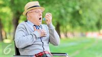 Foto Ilustrasi Penyakit Asma atau Sesak Nafas (iStokphoto)