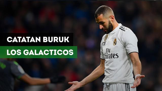 Berita video catatan buruk Real Madrid sepeninggal Ronaldo dan Zidane.