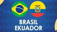 Copa America - Brasil Vs Ekuador (Bola.com/Adreanus Titus)