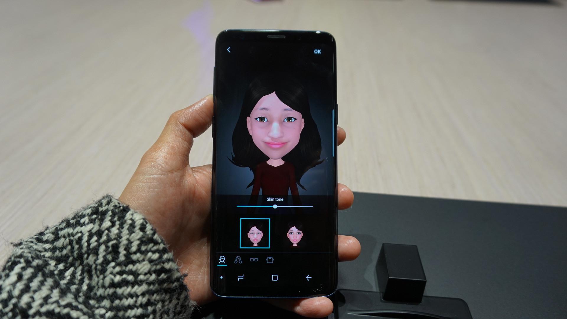AR Emoji Fitur Keren Galaxy S9 Yang Bisa Sulap Wajah Jadi