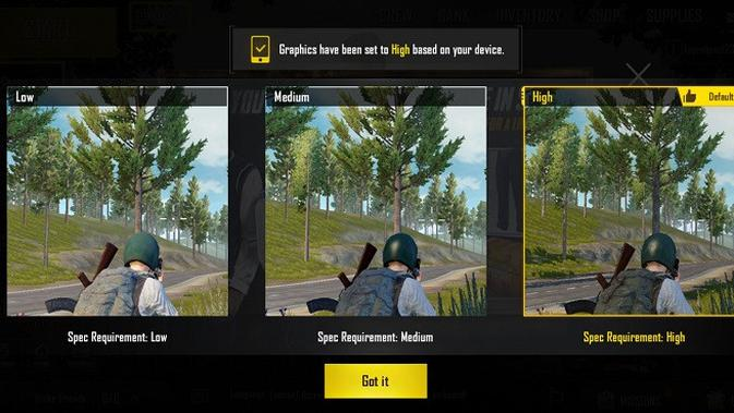 PUBG Mobile saat dimainkan di Honor 10 (liputan6.com/Agustinus M.Damar)