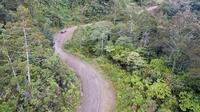 Jalan Trans Papua ruas Wamena-Elelim (Foto: Dok Ditjen Bina Marga Kementerian PUPR)