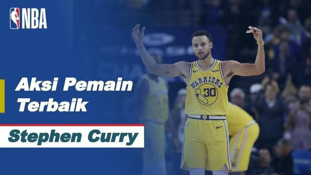Berita Video Stephen Curry Jadi Bintang Saat Golden State Warriors Kalahkan Portland Trail Blazers di NBA