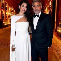 Amal Clooney dan George Clooney (Instagram @amalclooneyofficial)