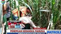 Keluarga tak menyangka, jika jasad pensiunan pegawai puskesmas itu tergeletak di kebun tebu Desa Canggu.