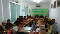 Dewan Pengupahan Kota Cirebon mengaku tidak ada kendala signifikan dalam pembahasan penetapan UMK tahun 2019. Foto (Liputan6.com / Panji Prayitno)