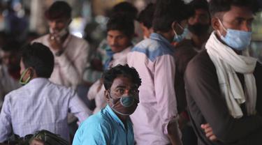 India Laporkan Jumlah Kasus COVID-19 Tertinggi dalam Empat Bulan