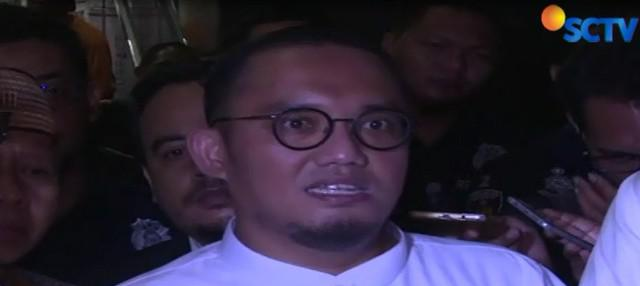 Dahnil diperiksa sebagai saksi dalam kasus penyebaran berita bohong dengan tersangka Ratna Sarumpaet.