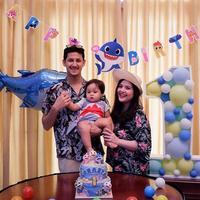 Anak Tasya Kamila Ultah ke-1 (Instagram/tasyakamila)