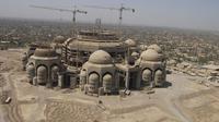Berikut sisa-sisa kejayaan Saddam Hussein dalam masjid-masjid megah yang ia tinggalkan.