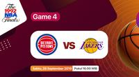 Laga Klasik NBA Finals 1989 Game 4: Detroit Pistons vs Los Angeles Lakers Hanya di Vidio