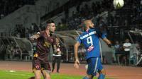 Duel PSIS vs PSM di Stadion Moch. Soebroto, Magelang (27/11/2019). (Bola.com/Vincentius Atmaja)