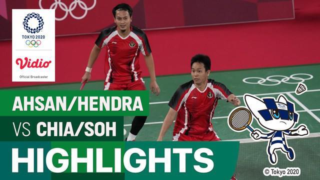 Berita video highlights bulutangkis ganda putra Olimpiade Tokyo 2020, pasangan senior Mohammad Ahsan/Hendra Setiawan kembali meraih kemenangan pada laga keduanya di Grup D, Senin (26/7/2021) sore hari WIB.