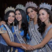 39 wanita cantik dari 34 provinsi di Indonesia siap bersaing untuk merebut mahkota Puteri Indonesia 2018. Seleksi yang cukup panjang telah dilakukan oleh dilakukan. (Deki Prayoga/Bintang.com)