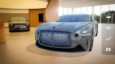 Dengan AR, Bentley Beri Pengalaman Rasakan Mobil Konsep Terbarunya
