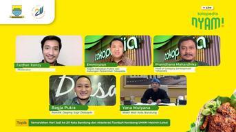 Jumlah Pelaku UMKM Kuliner Bandung Terdigitalisasi Meningkat 60 Persen dalam 3 Bulan
