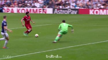 Berita video Mohamed Salah mencetak gol ke-31 di Premier League 2017-2018 pada laga West Bromwich Albion vs Liverpool yang berakhir dengan skor 2-2. This video presented by BallBall.