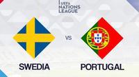 UEFA Nations League: Swedia vs Portugal. (Bola.com/Dody Iryawan)
