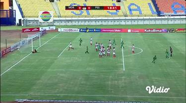 Berita video momen gol indah striker PSS, Irfan Jaya, saat menghadapi Madura United dalam laga Grup C Piala Menpora 2021, Selasa (23/3/2021) sore hari WIB.