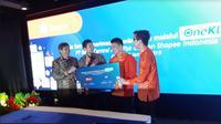 BCA bersama Shopee Indonesia luncurkan layanan baru untuk memudahkan pembayaran bagi nasabah (Foto:Merdeka.com/Yayu Agustini Rahayu)