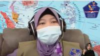 Direktur  Centre for Public Mental Health (CPMH) Fakultas Psikologi Universitas Gadjah Mada Diana Setiyawati. (Foto: Tangkapan layar YouTube BNPB)