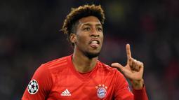 Kingsley Coman mengalami kenaikan nilai banderol sebanyak 40 juta euro. Pemain Bayern Munchen tersebut tercatat memiliki nilai taksir sebesar 25 juta euro di awal tahun 2021 dan saat ini mencapai 65 juta euro. (Foto: AFP/Christof Stache)
