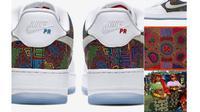 Desain sepatu Nike yang diprotes suku pribumi Panama (Dok.Twitter/@IsaacLarrier)