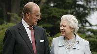 Foto Romantis Ratu Elizabeth dan Pangeran Philip  (Foto: Express.co.uk)