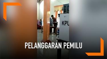 Bawaslu Kabupaten Boyolali membenarkan video viral Petugas KPPS mencobloskan surat suara pemilih. Bawaslu akan memanggil petugas KPPS dan sejumlah saksi atas terjadinya peristiwa tersebut