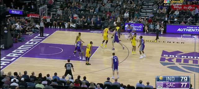 Berita video game recap NBA 2017-2018 antara Indiana Pacers melawan Sacramento Kings dengan skor 106-103.