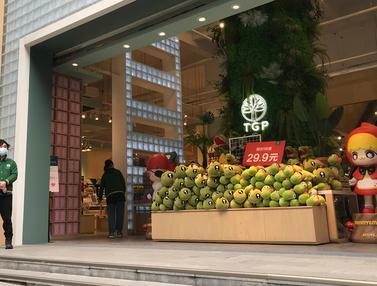 Bangkit dari Corona, Toko-Toko di Wuhan Mulai Buka Lagi