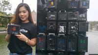 Spinx jadi distributor utama produk aksesori Rizoma di Indonesia. (Arief/Liputan6.com)